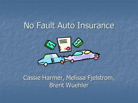 What is No Fault Insurance and How Does a Claim Work?