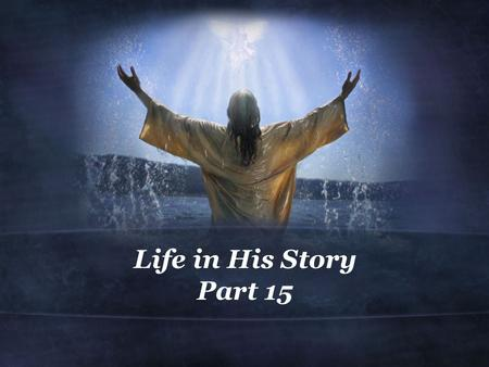 Life in His Story Part 15. 1 Peter 2:11-17 (NIV) 11 Dear friends, I urge you, as aliens and strangers in the world, to abstain from sinful desires, which.