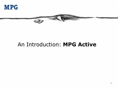 11 An Introduction: MPG Active. 22 Born in 2004 An independent legal entity since beginning 2006 Offices in Delhi, Mumbai, Bangalore, Chennai and Hyderabad.