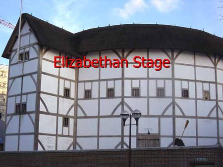 Elizabethan Stage Elizabethan Theaters The Elizabethan Era was from 1558-1603, during Queen Elizabeth I's reign. The Elizabethan Era was from 1558-1603,