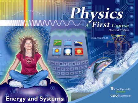 Energy and Systems.