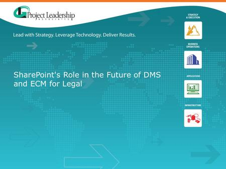 SharePoint's Role in the Future of DMS and ECM for Legal.