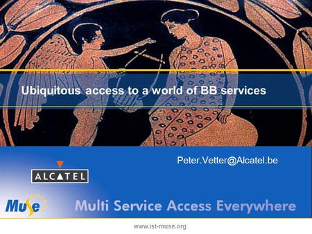 Ubiquitous access to a world of BB services