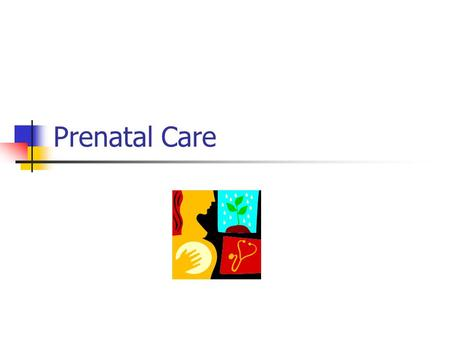 Prenatal Care. What is prenatal care? health care you get while you are pregnant. Take care of yourself and your baby by: Getting early prenatal care.