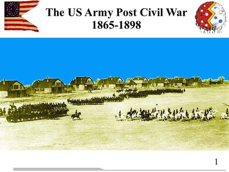 1 The US Army Post Civil War 1865-1898 2 TLOs and ELOs Understand the effect demobilization and reconstruction had on the US Army Understand the rise.