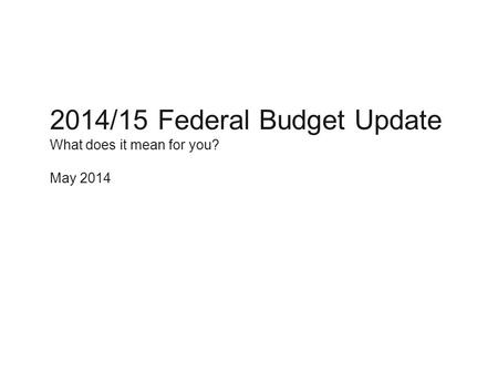 Axa s federal budget update 2009 federal budget update for Soil erosion meaning in hindi