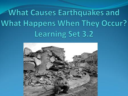 What causes Tsunamis? Pg.96 A Tsunami occurs when a moderate to sever earthquake occurs underwater, which displaces the water. Watch this video