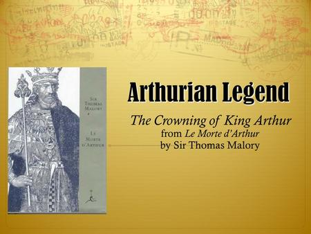 The Crowning of King Arthur