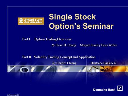 Stock options summary