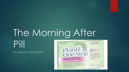 Is the morning after pill abortion