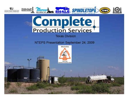 Texas Division NTEPS Presentation September 24, 2009.