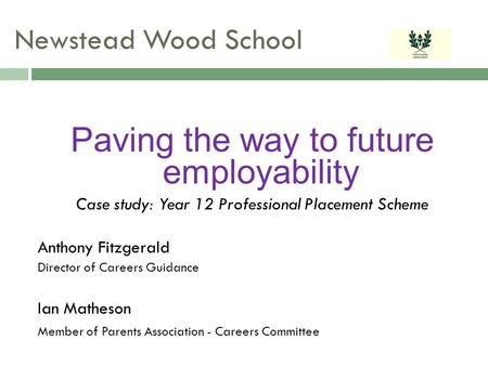 Paving the way to future employability