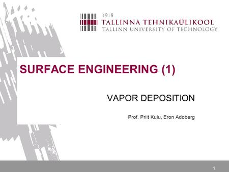 SURFACE ENGINEERING (1)