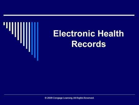 security issues of the electronic ehr