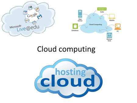 Cloud computing Tahani aljehani.