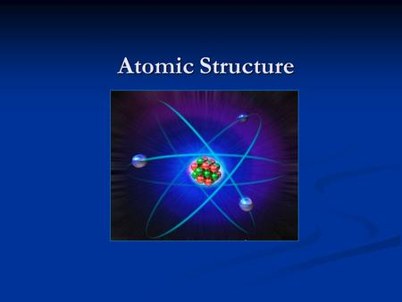 Atomic Structure. Subatomic Particles (Particles that make up an atom) ● Proton (p+) - Positively charged - Found in the nucleus - Large mass ●Neutron.