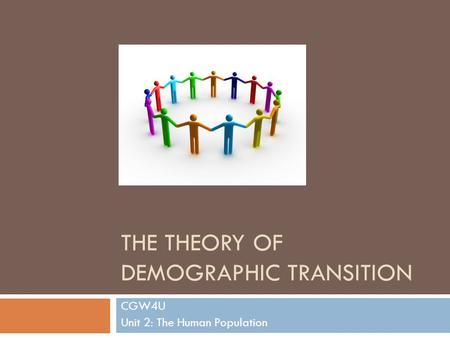 The Theory of Demographic Transition