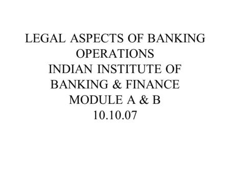 **.. <strong>Banking</strong> is defined in the <strong>Banking</strong> Regulation Act.