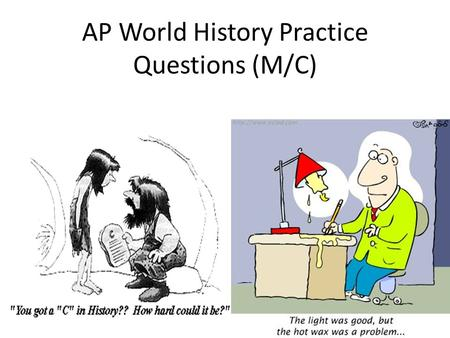 ap world assignment Ap world history summer assignment (2015) the following items must be completed you will be graded on completion and neatness this assignment is due on the first day of school.