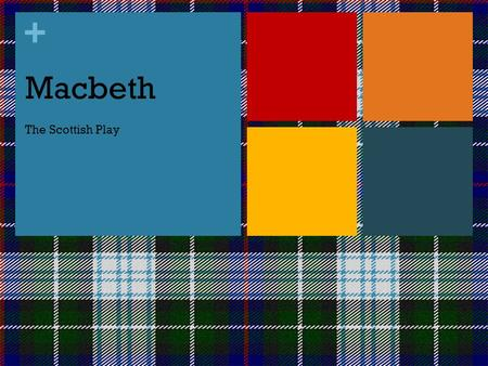 + Macbeth The Scottish Play. + Quick Facts about Macbeth Written in 1606 by William Shakespeare Published in 1623 by two senior members of Shakespeare's.