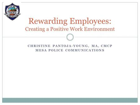 Rewarding Employees: Creating a Positive Work Environment
