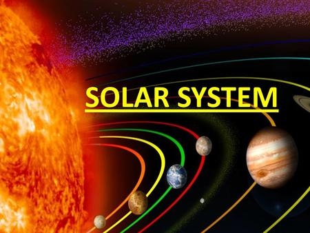 SOLAR SYSTEM. PLANETS COMETS SUN STARS SPACE THE PLANETS OF THE SOLAR SYSTEM.