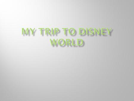  My family's trip to Disney World would start at The Pop Century Resort. To get there from the airport we would take Disney's complimentary Magic Express.