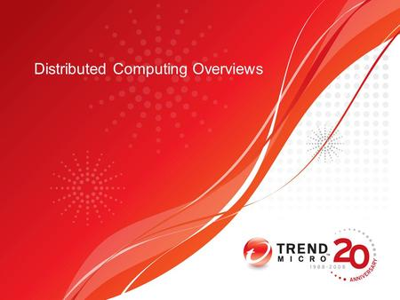 Distributed Computing Overviews. Agenda What is distributed computing Why distributed computing Common Architecture Best Practice Case study –Condor –Hadoop.