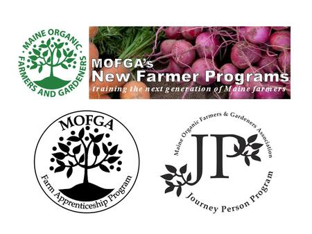 MOFGA's Apprenticeship Program connects people wanting to learn organic farming with experienced farmers willing to share their expertise.