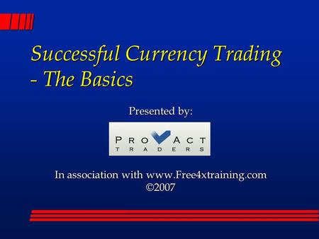 6 rules of successful forex trading