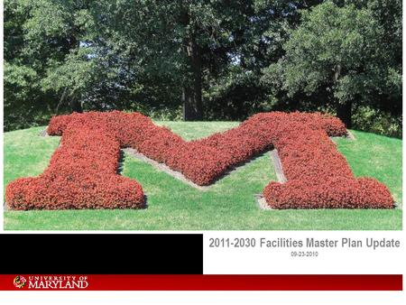 2011-2030 Facilities Master Plan Update 09-23-2010.
