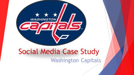 Social Media Case Study Washington Capitals. Social Media Sites Facebook Facebook.com/WashingtonCapitals  Main Facebook page of the Washington Capitals.