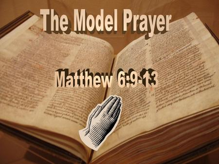 9. After this manner therefore pray ye: Our Father which art in heaven, Hallowed be thy name. 10. Thy kingdom come. Thy will be done in earth, as it is.