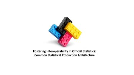 Common Statistical Production Architecture An statistical industry architecture will make it easier for each organisation to standardise and combine the.