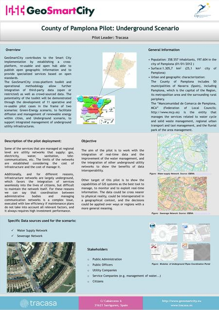 Specific Data sources used for the scenario: Water Supply Network Sewerage Network