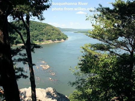 Susquehanna River photo from wilkes.edu. Indwelling of the Spirit Romans 8.9 NIV: You [believers in Rome], however, are not in the realm of the flesh.