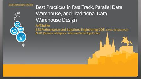 Fast Track, Microsoft SQL Server 2008 Parallel Data Warehouse and Traditional Data Warehouse Design BI Best Practices and Tuning for Scaling SQL Server.