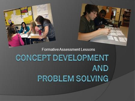 Formative Assessment Lessons.  Stephanie Finn, Paulding County  Amy Lundy, Jones County  Kami Wyse, Hall County.