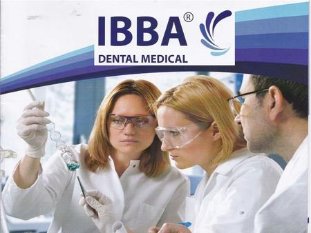 ABOUT US -IBBA DENTALS has been found in 2012. -Despite we are a newly established, our company is managed by a 25 years of experience thanks to our CEO.