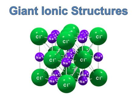 An ion is an atom or group of atoms which carries an electrical charge – either positive or negative.