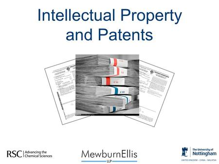 Intellectual Property and Patents. Learning Outcomes  Introduce the concept of Intellectual Property (IP)  Why protect an idea?  Patents  How to get.
