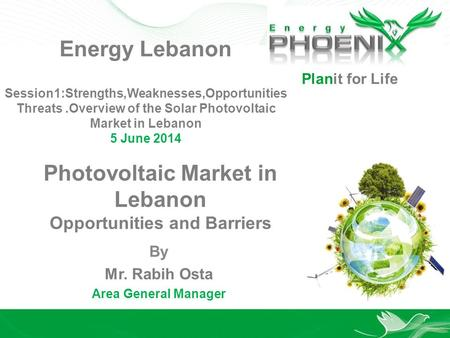 Photovoltaic Market in Lebanon Opportunities and Barriers