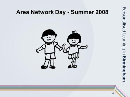 0 Area Network Day - Summer 2008. 1 Agenda 09:15 – 10:30 Assessing Pupil Progress 10:30 – 10:45 Break 10:45 – 12:00Raising Standards in Reading using.