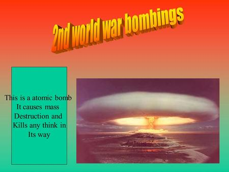 an analysis of the atomic bomb The ethics of war: hiroshima and nagasaki after 50 years the first use of an atomic bomb in this is a paramount consideration in their analysis of the role.