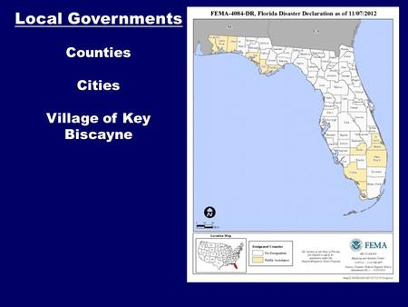 Local Governments Counties Cities Village of Key Biscayne.