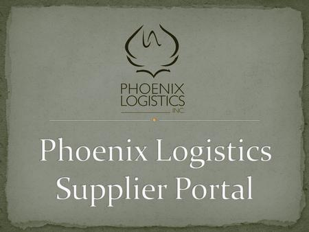 This portal connects PLI with its Suppliers through an online database of information, providing paperless, real-time communication. Through PLI Plex.