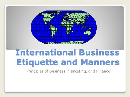 fundamentals of business etiquette The place where our manners are really put to the test is at the table eating a meal with others is a veritable minefield of potential blunders and gaffes, so if you're planning to dine with work colleagues, superiors or clients, it's wise for you to be fully versed in dining etiquette.