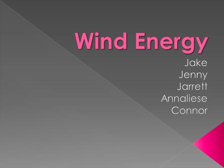  Wind Turbines are used to power electric generators and allows wind to be used as an alternative fuel.  Wind Power is used to power homes, businesses,