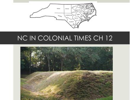 NC IN COLONIAL TIMES CH 12. COLONIAL GOVERNMENT  1689: GOVERNOR APPOINTED BY KING: ROYAL COLONY  GOVNOR APPOINTED MANY KEY GOVERNMENT OFFICIALS  GENERAL.