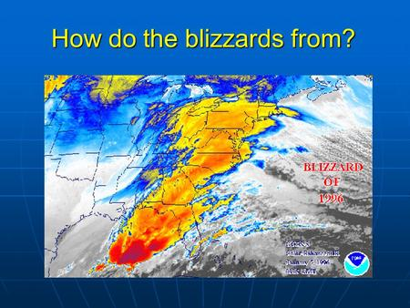 How do the blizzards from?. Review of last lecture Tropical climate: Mean state: The two basic regions of SST? Which region has stronger rainfall? What.